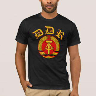 East Germany (DDR) logotyp T-shirt