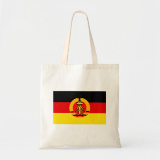 East Germany flagga Budget Tygkasse