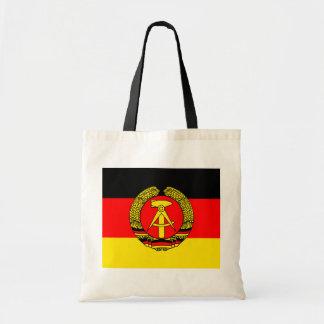 East Germany högkvalitativ flagga Tote Bags