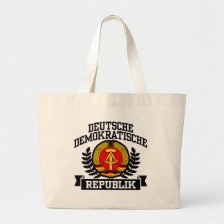 East Germany Tote Bags