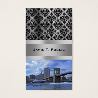 East River: Brooklyn överbryggar & kommunal Visitkort