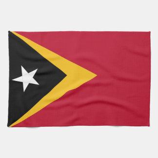 East Timor flagga Kökshandduk