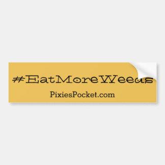 #eatmoreweedsbildekal bildekal
