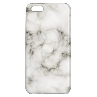 Ebenholtssvart elfenbenmarmor iPhone 5C mobil fodral