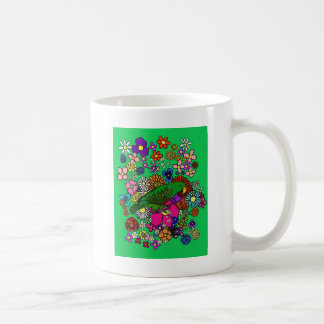 Eclectus Springtime Kaffemugg