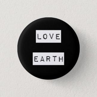 Eco för jorddagmiljöaktivist gåva mini knapp rund 3.2 cm