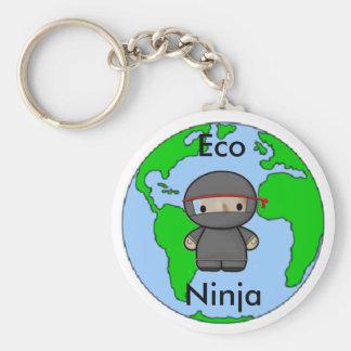 Eco Ninja Rund Nyckelring