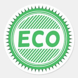 Eco Runt Klistermärke