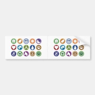 Eco symboler bildekal
