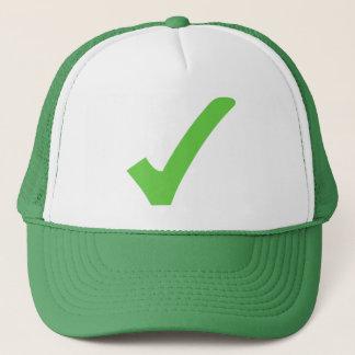 ECO-Vänskapsmatch grön hatt Truckerkeps
