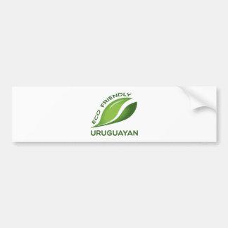 Eco vänskapsmatchUruguayan. Bildekal