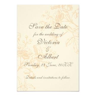 Ecru ro som gifta sig inbjudan