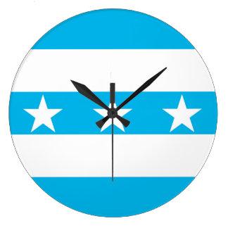 Ecuador för Guayaquil stadsflagga symbol Stor Klocka
