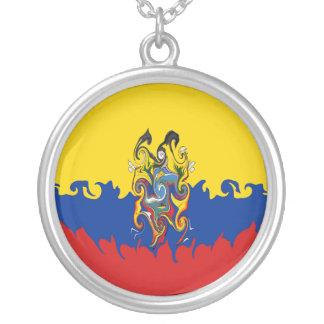 Ecuador Gnarly flagga Personliga Halsband