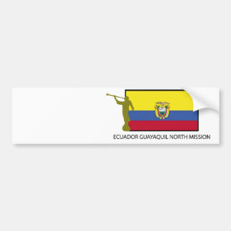 Ecuador Guayaquil norr beskickningCTR LDS Bildekal
