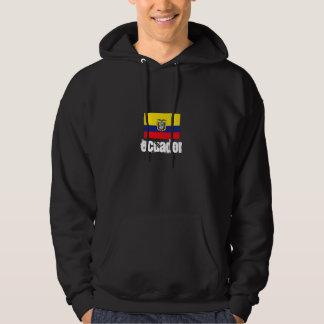 Ecuador hooded svettskjorta tröja med luva