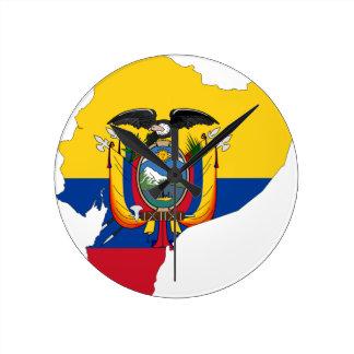 Ecuador Rund Klocka