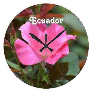 Ecuadorianskt steg stor klocka