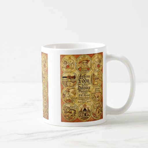 Edda NorseMythology Kaffe Kopp