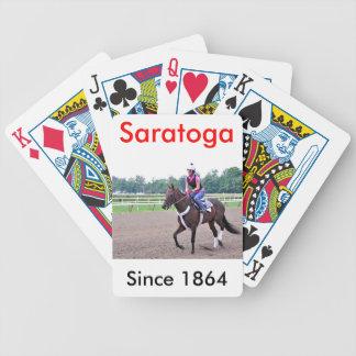 Eddie Keneally genomkörare på Saratoga Spelkort