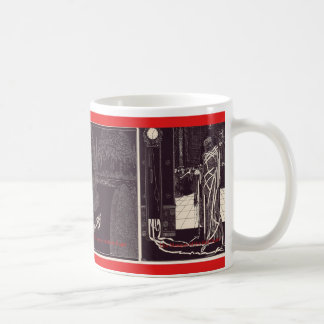 Edgar Allan Poe illustrationer Kaffemugg