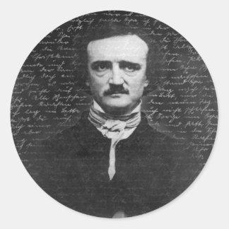 Edgar Allan Poe Runt Klistermärke