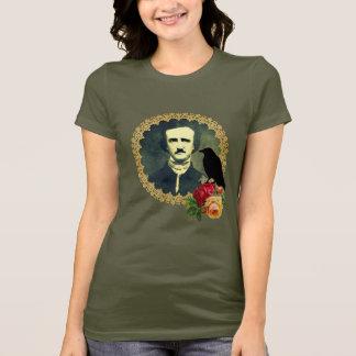 Edgar Allan Poe som inramas med ro T Shirt