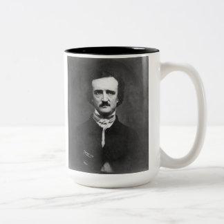 Edgar Allan Poe Två-tonad mugg