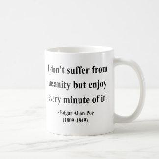 Edgar Allen Poe citationstecken 6a Kaffemugg