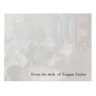Edgar Degas | arrangerar repetition Anteckningsblock