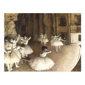 Edgar Degas | balettrepetition Vykort