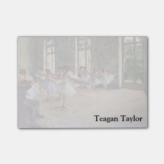 Edgar Degas | balettrepetitionen Post-it Lappar