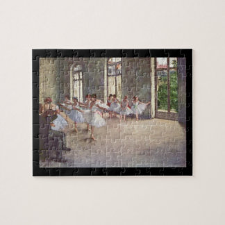 Edgar Degas | balettrepetitionen Pussel