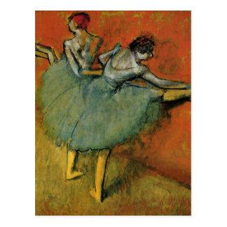 Edgar Degas | dansare på puben Vykort