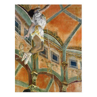 Edgar Degas | Fröcken Lala på Cirquen Fernando Vykort