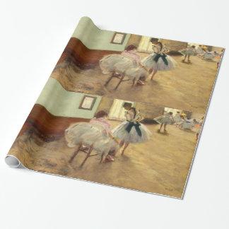 Edgar Degas konsten för danskursvintage Presentpapper