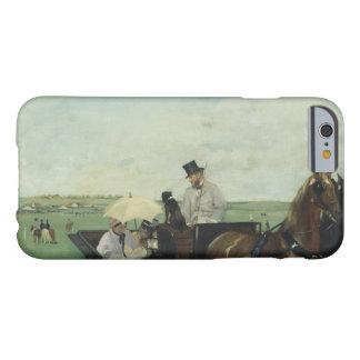 Edgar Degas - på tävlingarna i bygden Barely There iPhone 6 Fodral