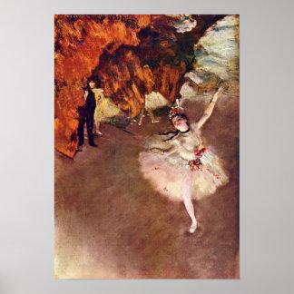 Edgar Degas - primaballerinaen (Rosita Mauri) Poster