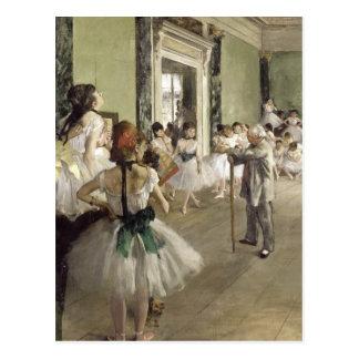 Edgar Degas | som baletten klassificerar ny adress Vykort