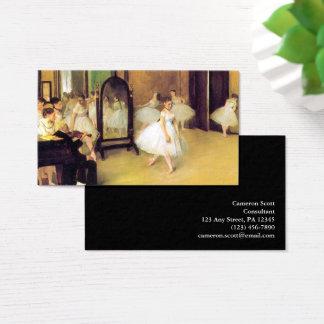 Edgar Degas | som dansen klassificerar Visitkort