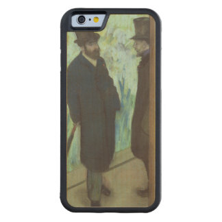 Edgar Degas | vänner på theatren Carved Lönn iPhone 6 Bumper Skal