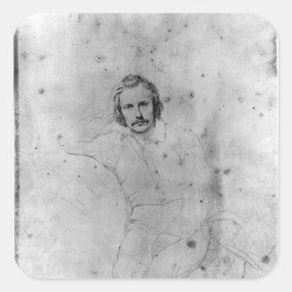 Edgar Quinet, 1833 Fyrkantigt Klistermärke