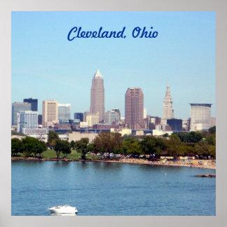 Edgewater Strand-Cleveland Ohio affisch (24X24) Poster