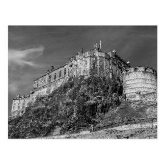Edinburgh slott, Skottland Vykort