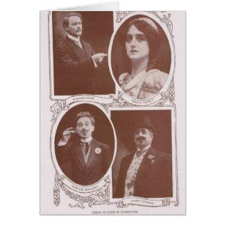 Edison spelare 1912 hälsningskort