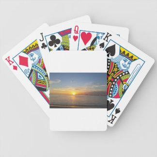 Edisto sunset. spelkort