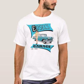 Edsels garage i blått tröja