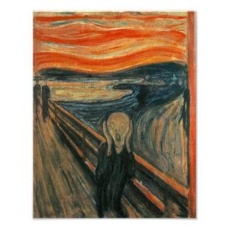 Edvard Munch - skriet Fototryck