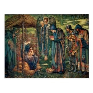 Edward Burne-Jones: Stjärna av Bethlehem Vykort