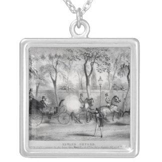 Edward Oxfords försök att lönnmörda drottningen Silverpläterat Halsband
